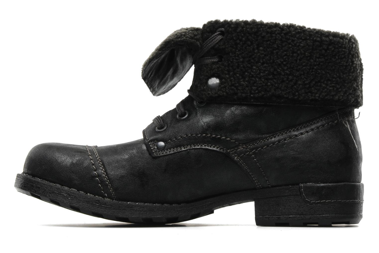 Bottines et boots I Love Shoes Supoli Noir vue face