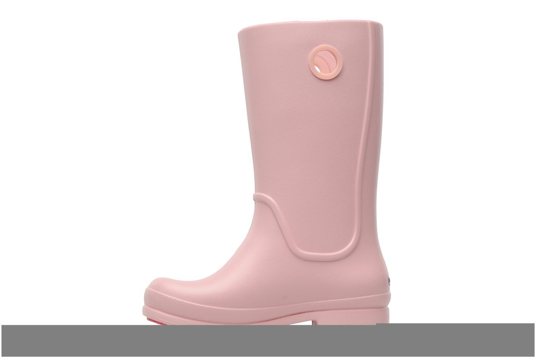 Laarzen Crocs Wellie Rain Boot Girl K Roze voorkant