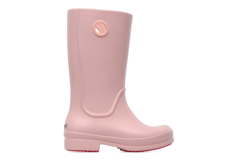 Laarzen Crocs Wellie Rain Boot Girl K Roze achterkant