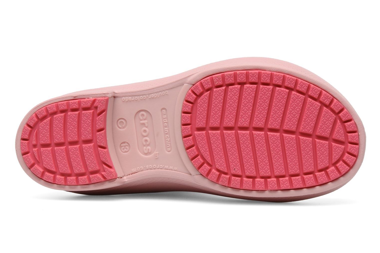 Laarzen Crocs Wellie Rain Boot Girl K Roze boven