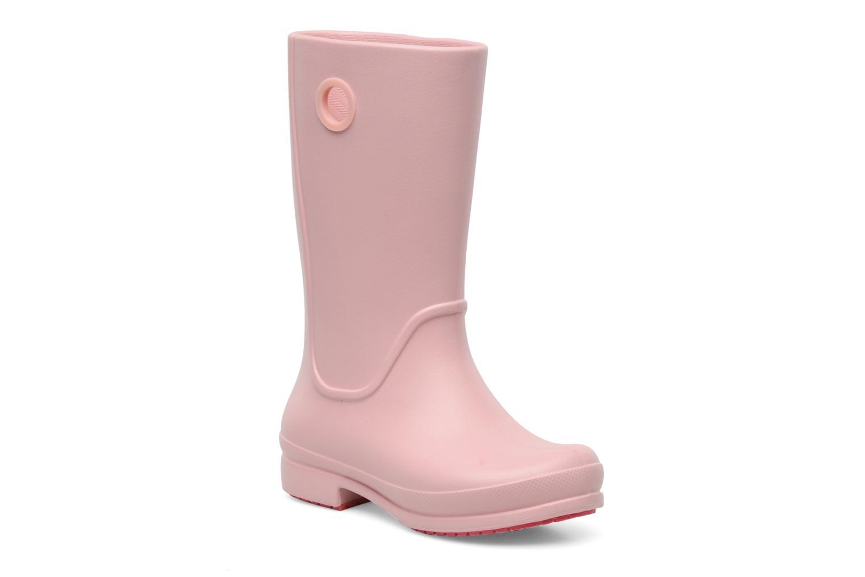 Laarzen Crocs Wellie Rain Boot Girl K Roze detail