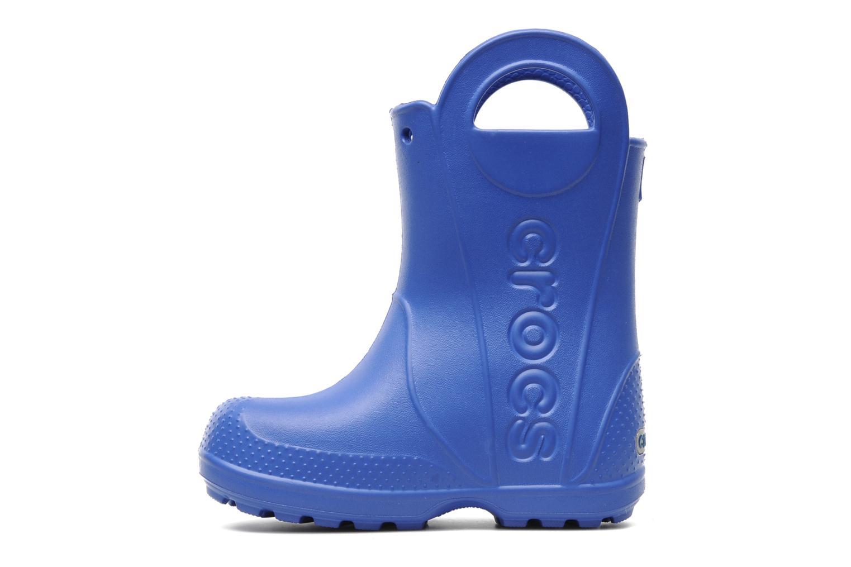 Stiefel Crocs Handle it Rain Boot kids blau ansicht von vorne
