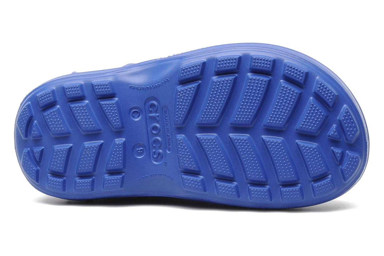 Bottes Crocs Handle it Rain Boot kids Bleu vue haut