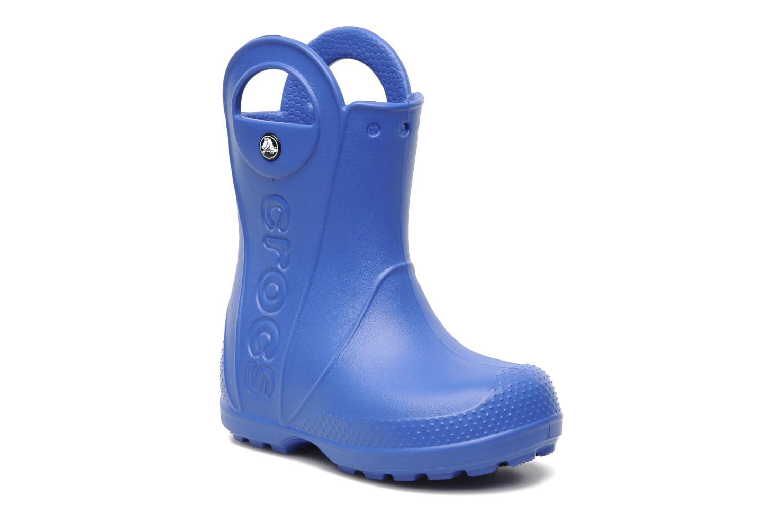 Bottes Crocs Handle it Rain Boot kids Bleu vue détail/paire