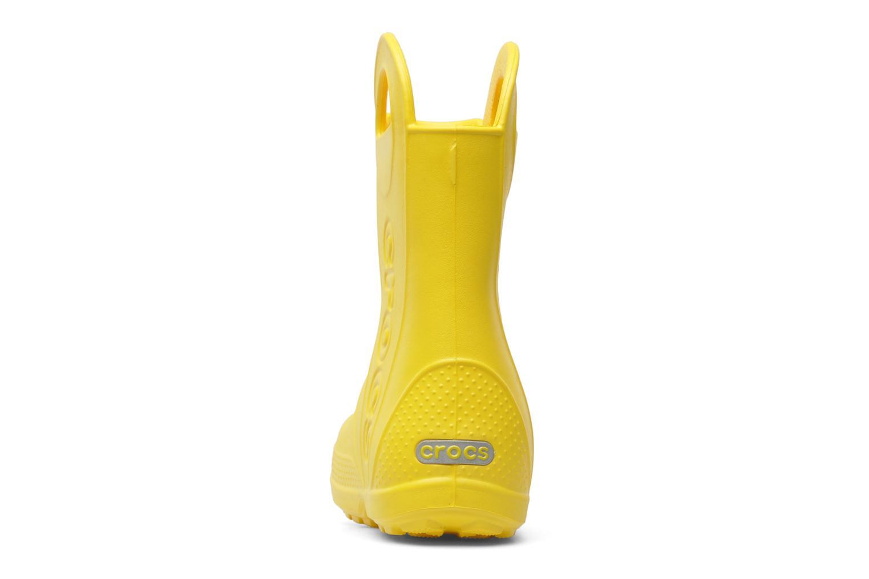Stiefel Crocs Handle it Rain Boot kids gelb ansicht von rechts
