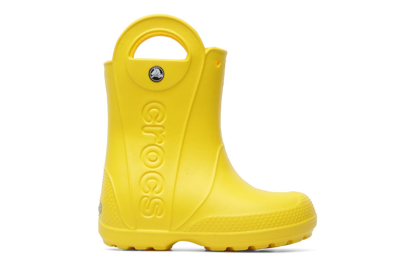 Stiefel Crocs Handle it Rain Boot kids gelb ansicht von hinten