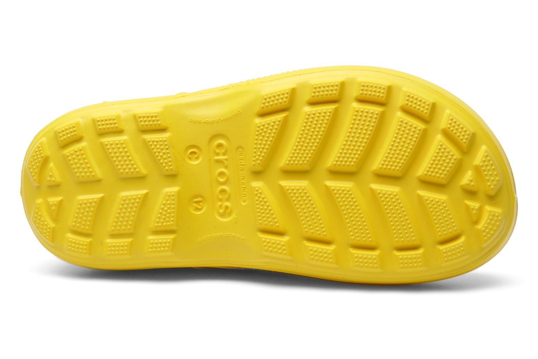 Stiefel Crocs Handle it Rain Boot kids gelb ansicht von oben
