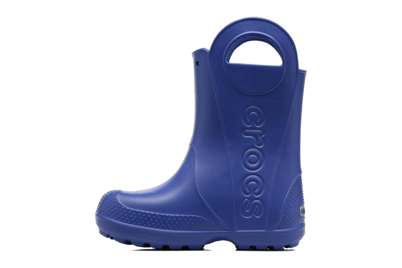 Bottes Crocs Handle it Rain Boot kids Bleu vue face