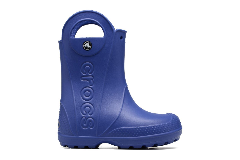 Bottes Crocs Handle it Rain Boot kids Bleu vue derrière