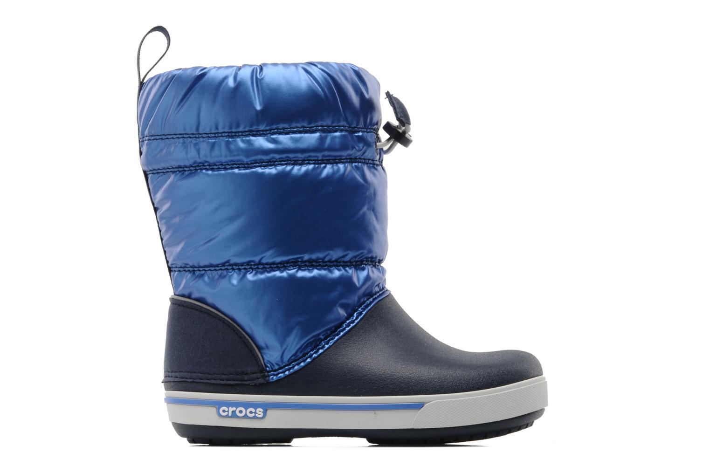 Bottes Crocs Crocband Iridescent Gust Boot Kids Bleu vue derrière
