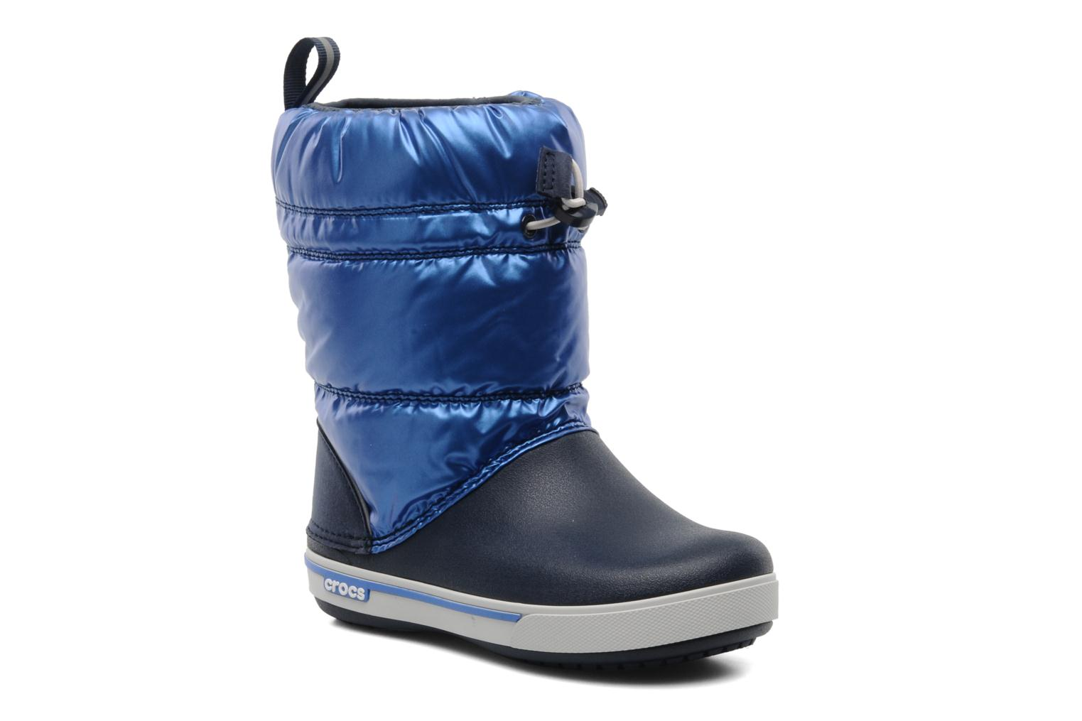 Boots & wellies Crocs Crocband Iridescent Gust Boot Kids Blue detailed view/ Pair view