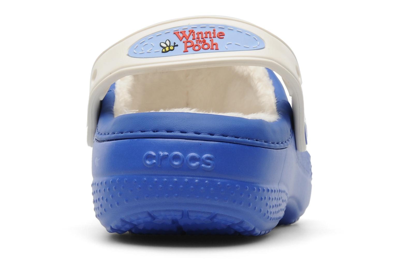 Sandales et nu-pieds Crocs Winnie The Pooh & Eeyore Lined Clog Bleu vue droite