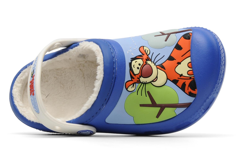 Sandales et nu-pieds Crocs Winnie The Pooh & Eeyore Lined Clog Bleu vue gauche