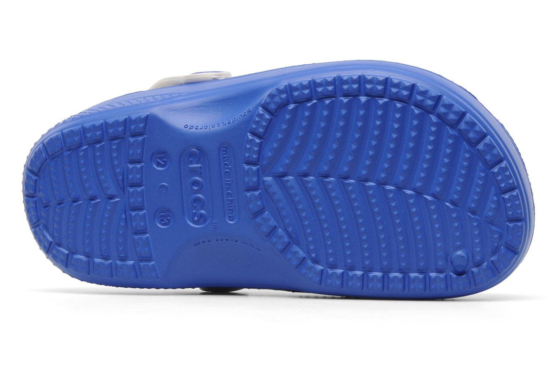 Sandales et nu-pieds Crocs Winnie The Pooh & Eeyore Lined Clog Bleu vue haut