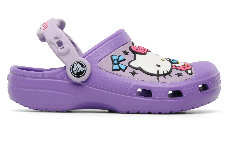 Sandalen Crocs Hello Kitty Candy Ribbons Clog lila ansicht von hinten
