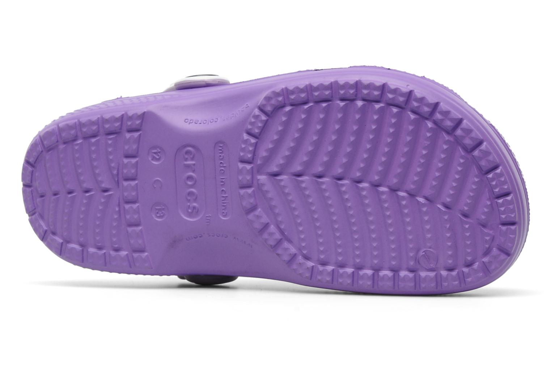 Sandalen Crocs Hello Kitty Candy Ribbons Clog lila ansicht von oben