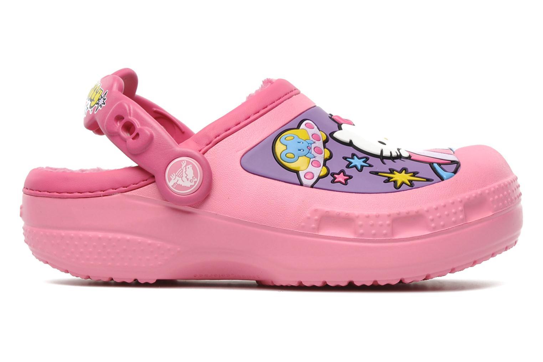 Sandales et nu-pieds Crocs Hello Kitty Space Adventure Lined Clog Rose vue derrière