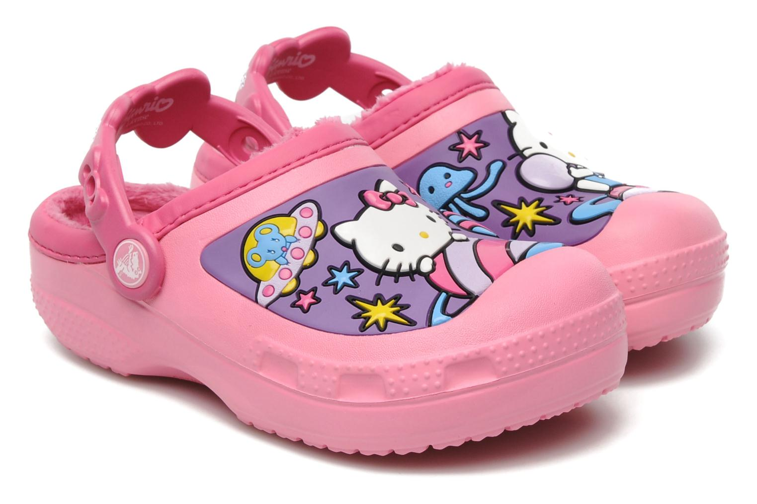 Sandalen Crocs Hello Kitty Space Adventure Lined Clog Roze detail