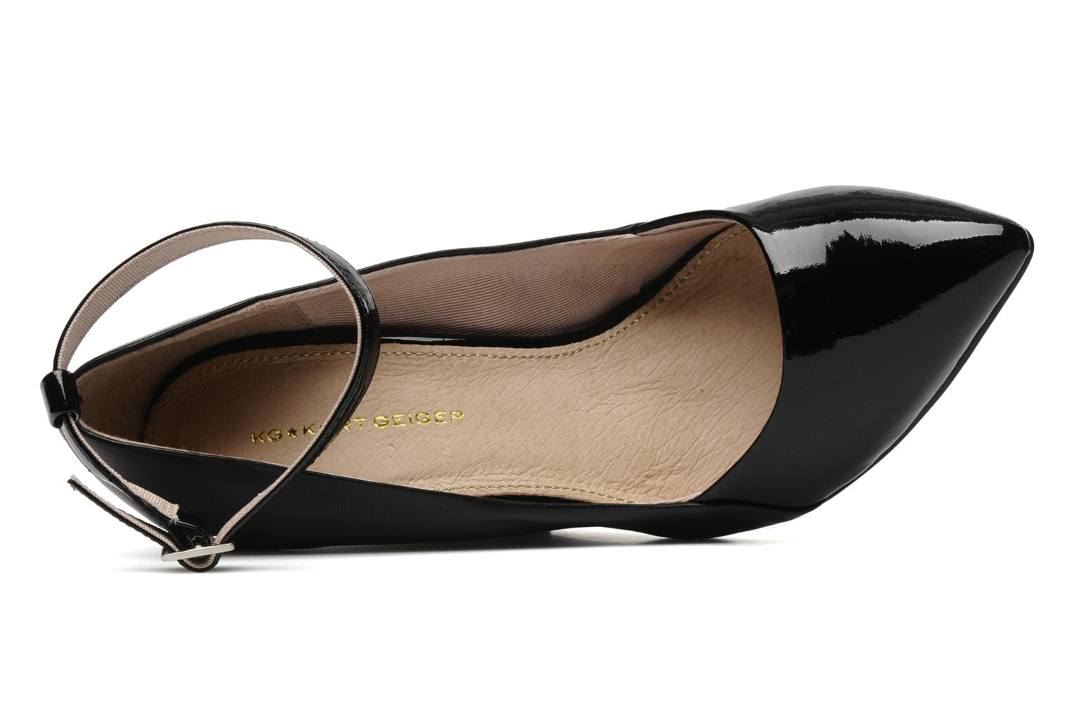High heels KG By Kurt Geiger CRISTAL Black view from the left