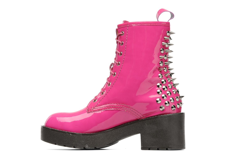 Boots en enkellaarsjes Jeffrey Campbell 8TH STREET Roze voorkant