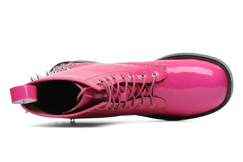 Stiefeletten & Boots Jeffrey Campbell 8TH STREET rosa ansicht von links