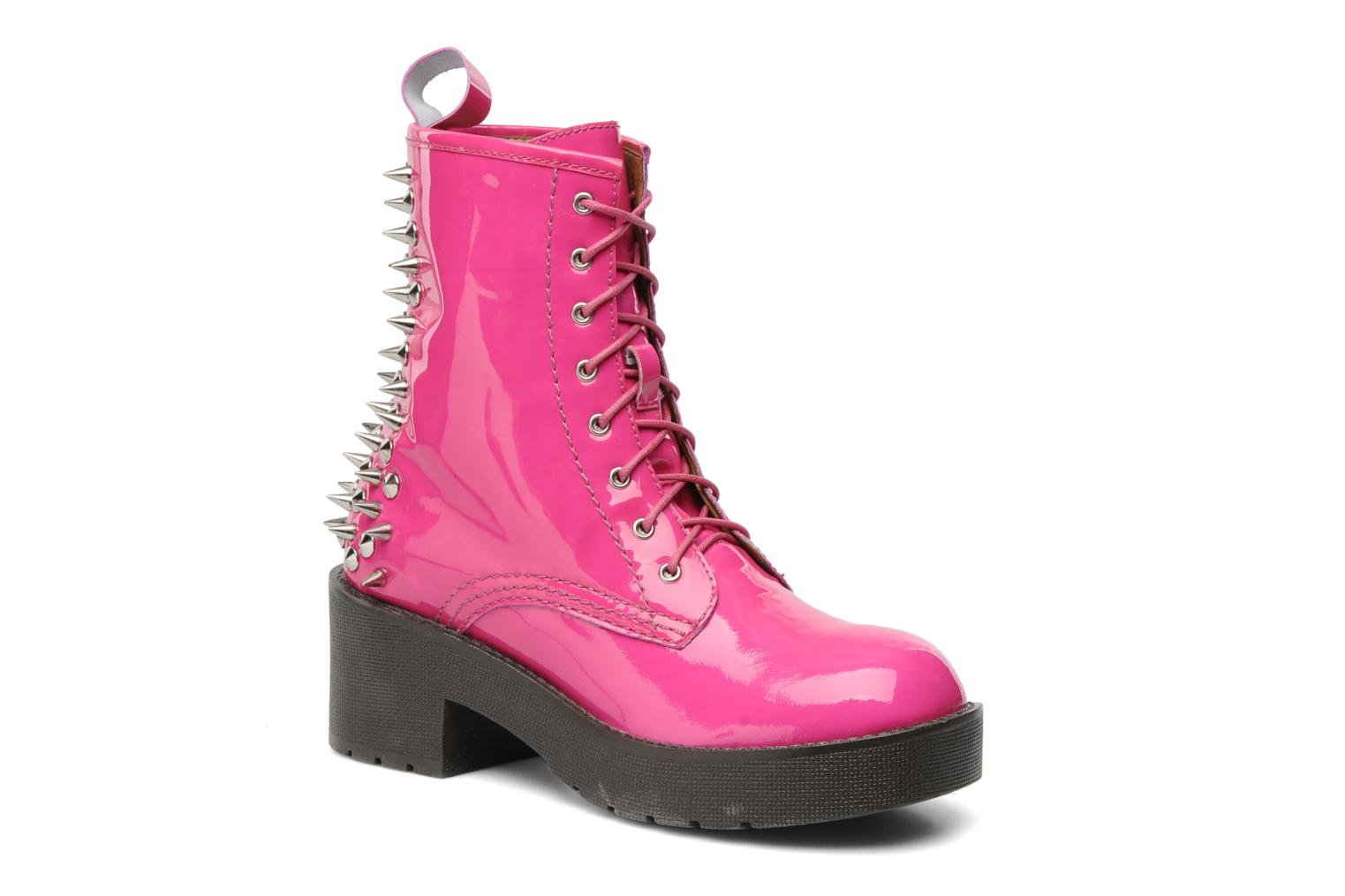 Bottines et boots Jeffrey Campbell 8TH STREET Rose vue détail/paire