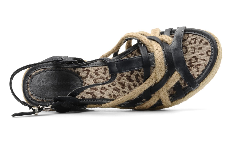 Sandali e scarpe aperte Mustang shoes Maderou Azzurro immagine sinistra