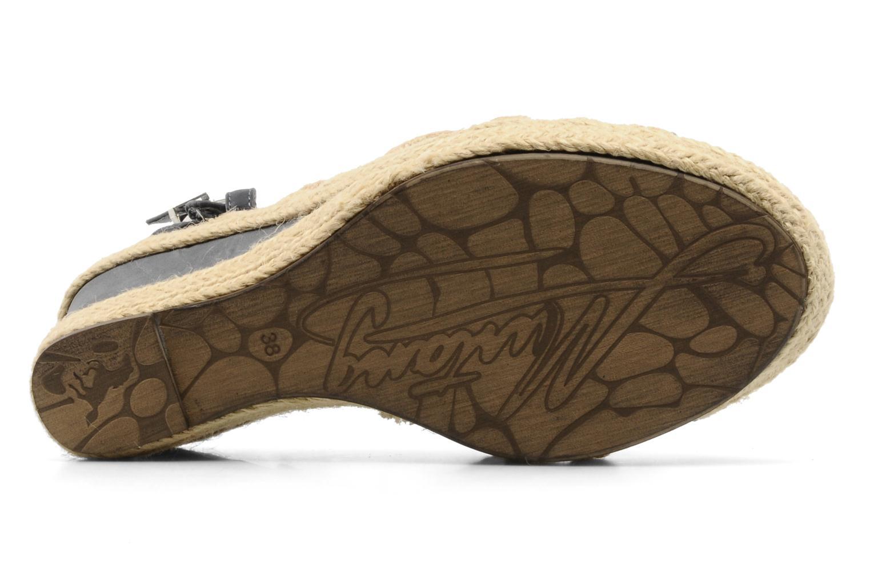 Sandali e scarpe aperte Mustang shoes Maderou Azzurro immagine dall'alto