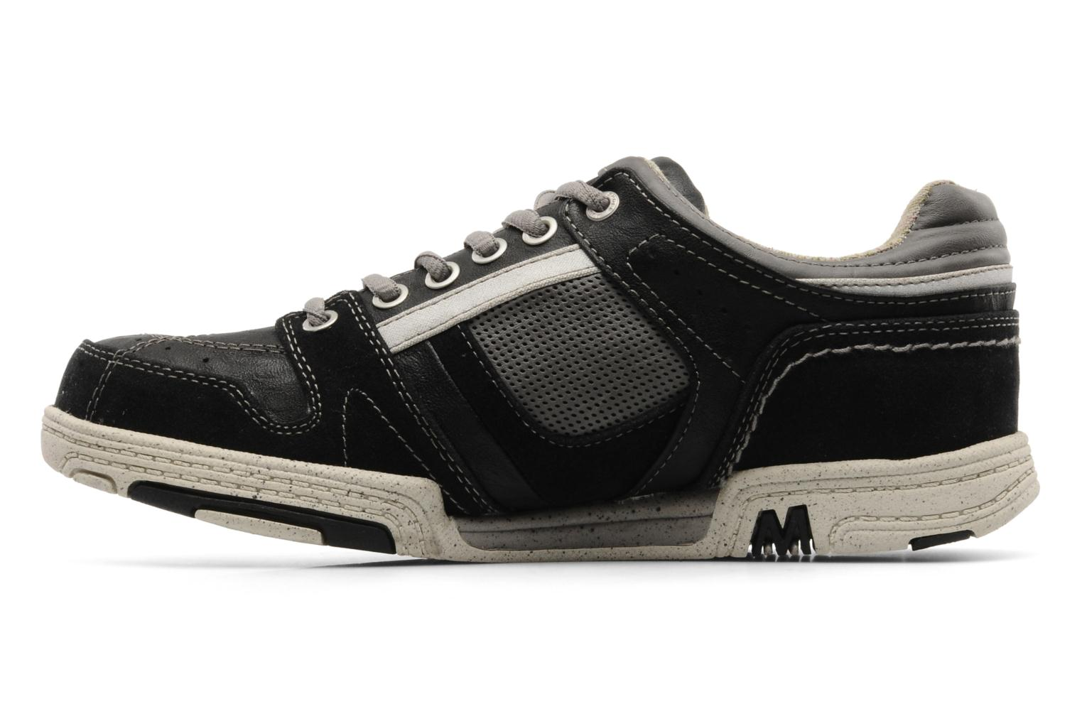 Sneakers Mustang shoes Fidele Nero immagine frontale