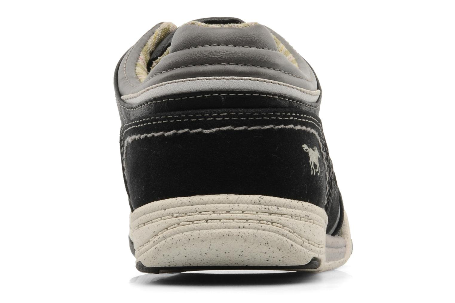 Sneakers Mustang shoes Fidele Nero immagine destra