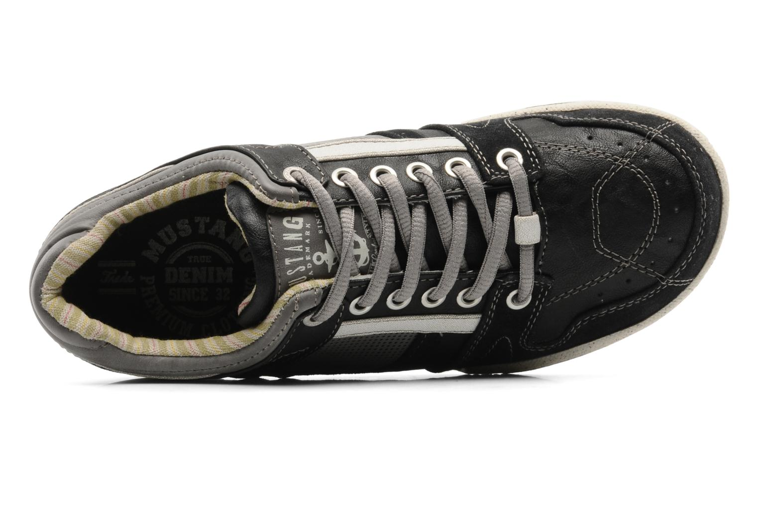 Sneakers Mustang shoes Fidele Nero immagine sinistra