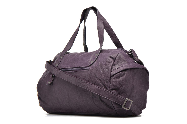 Handtaschen Sabrina Jade lila ansicht von rechts
