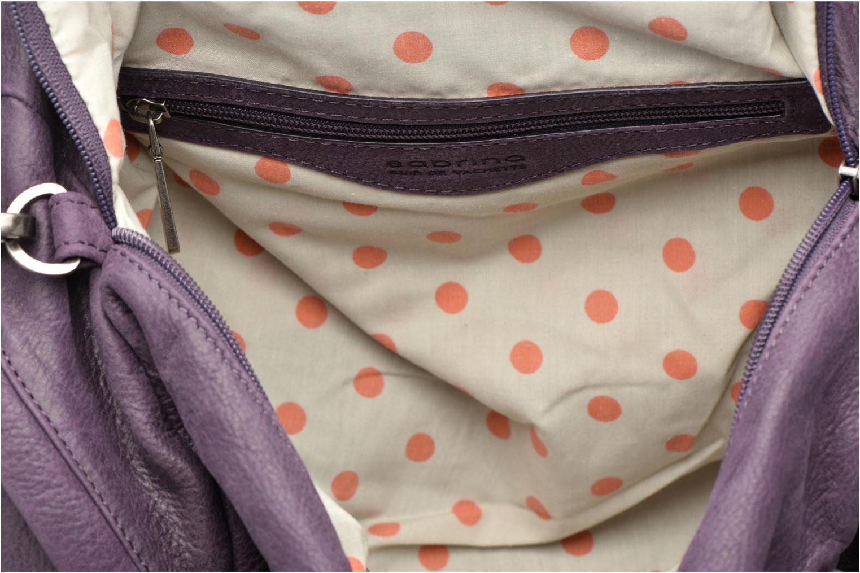 Handtaschen Sabrina Jade lila ansicht von hinten