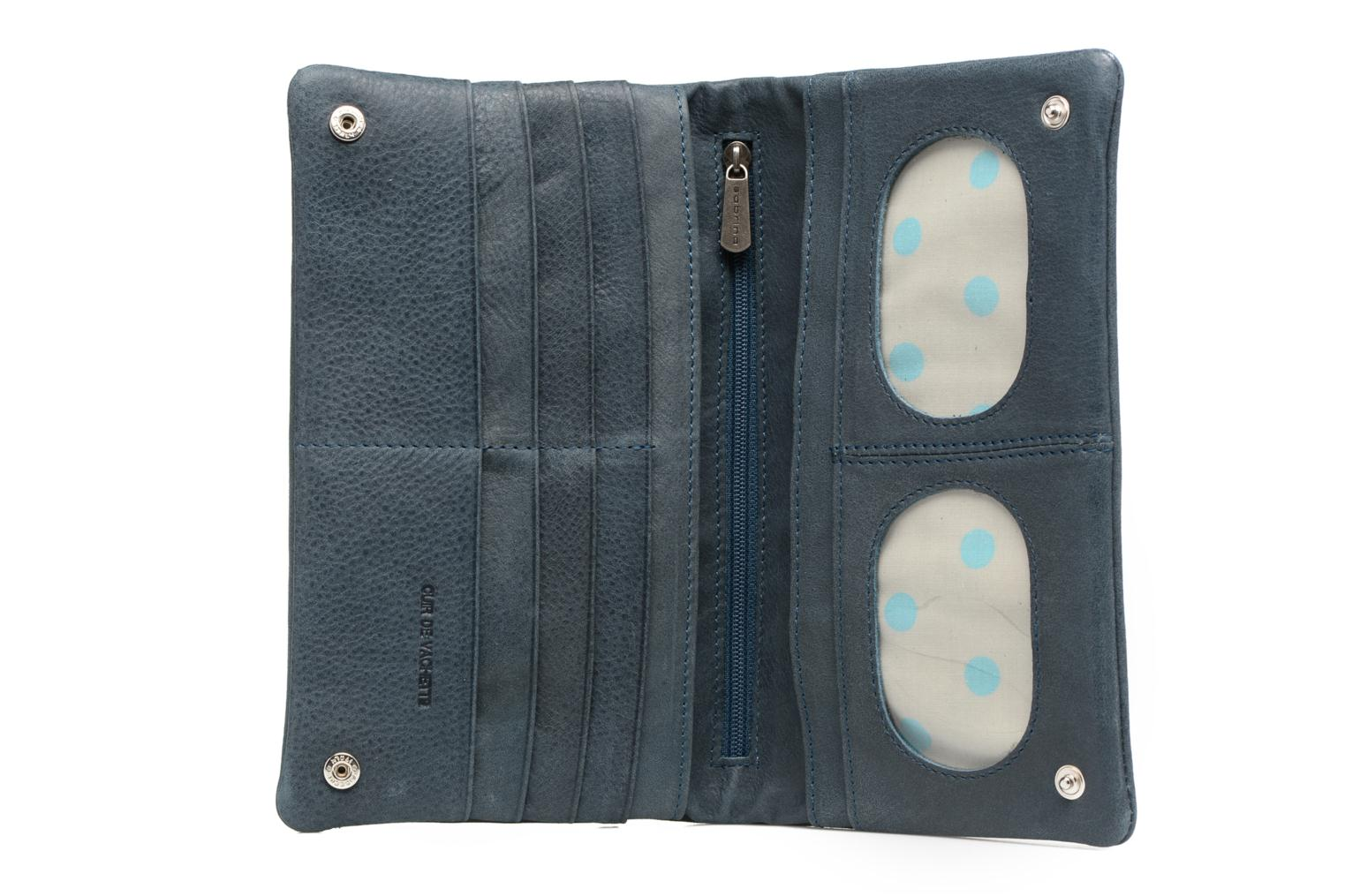 Wallets & cases Sabrina Kate Blue view from the left