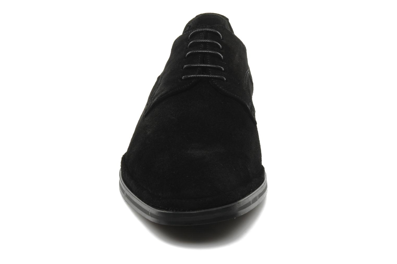 Schnürschuhe Fluchos Dylan 8020 schwarz schuhe getragen