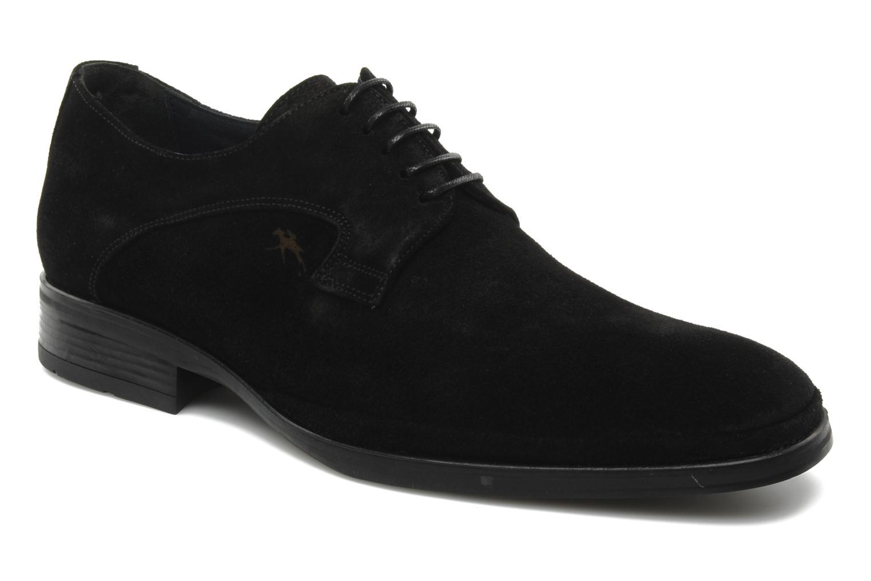 Schnürschuhe Fluchos Dylan 8020 schwarz detaillierte ansicht/modell