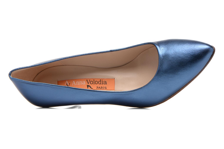 Pumps Anna Volodia Ana blau ansicht von links