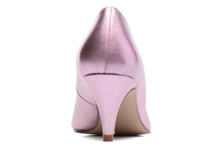 Zapatos de tacón Anna Volodia Ana Rosa vista lateral derecha