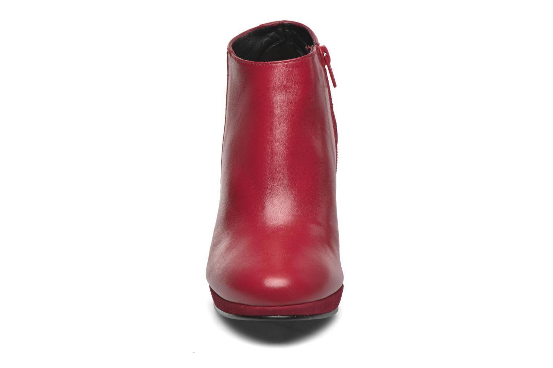 Bottines et boots Anna Volodia Aida Rouge vue portées chaussures
