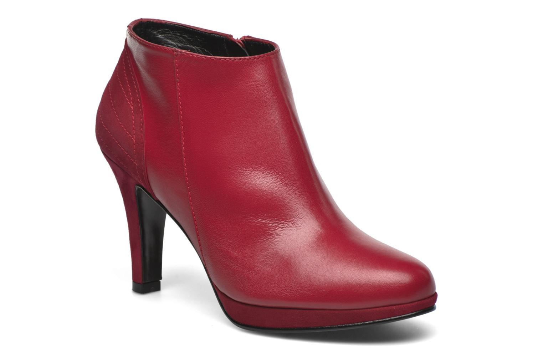 Bottines et boots Anna Volodia Aida Rouge vue détail/paire