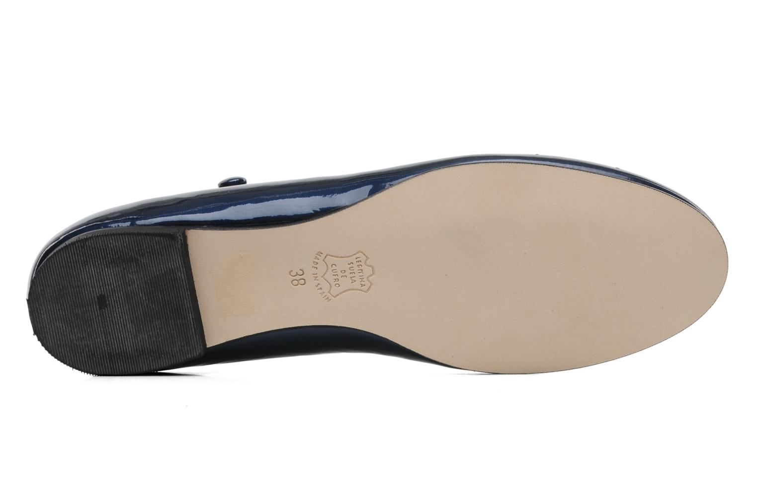 Ballet pumps Anna Volodia Aelan Blue view from above