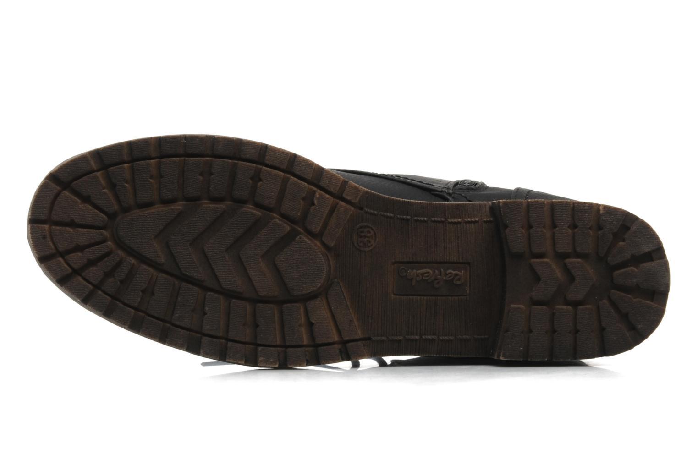 Stiefeletten & Boots Refresh Leanne schwarz ansicht von oben