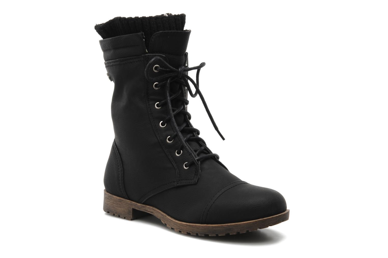 Stiefeletten & Boots Refresh Leanne schwarz detaillierte ansicht/modell