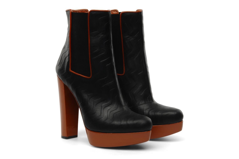 Bottines et boots Missoni Miranella Noir vue 3/4