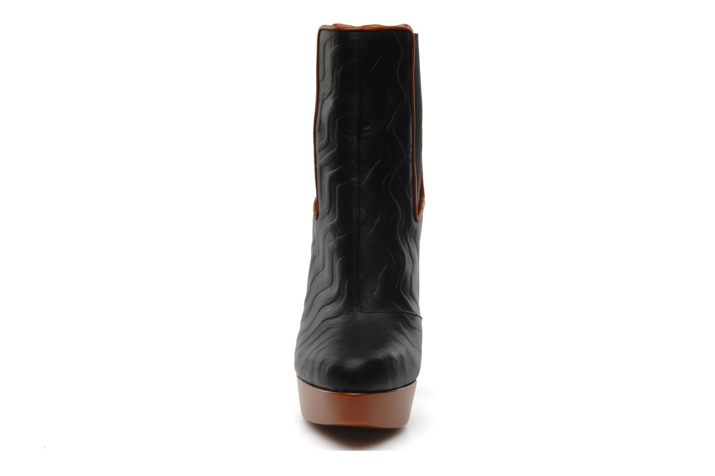 Bottines et boots Missoni Miranella Noir vue portées chaussures