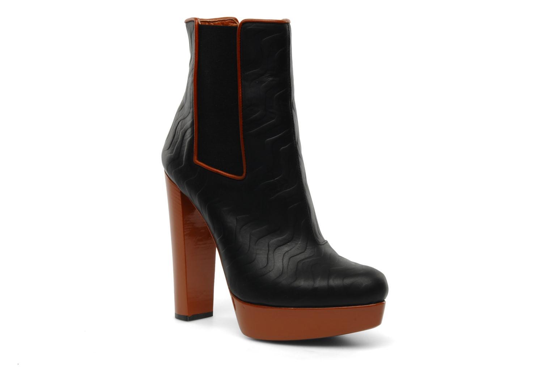 Boots en enkellaarsjes Missoni Miranella Zwart detail