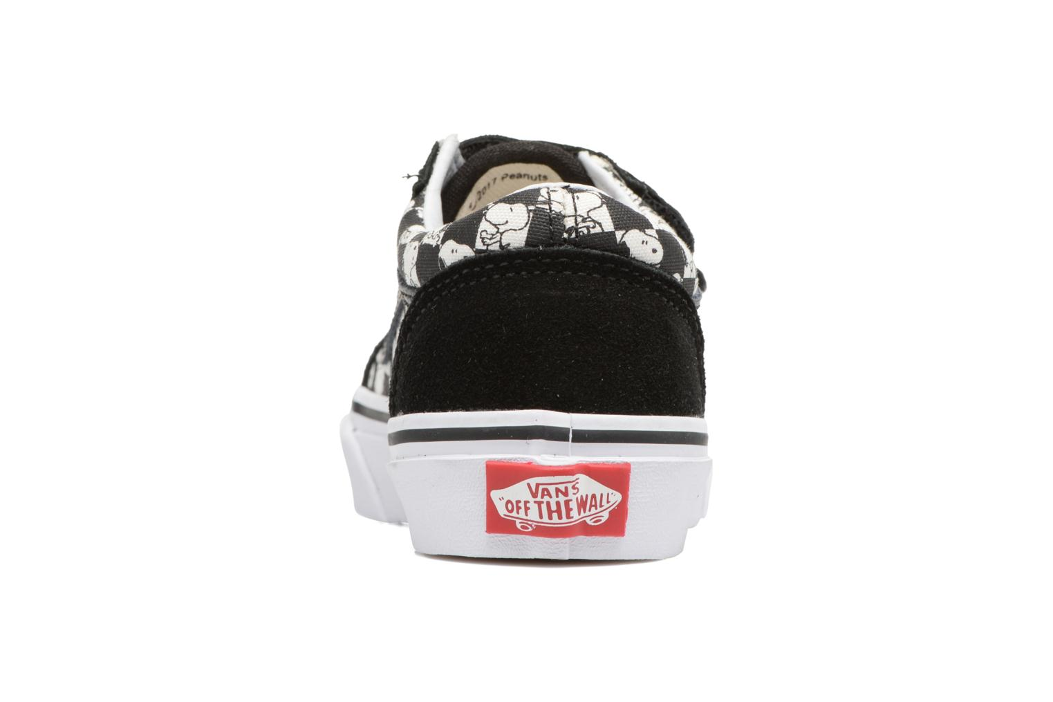 Trainers Vans Old Skool v Black view from the right