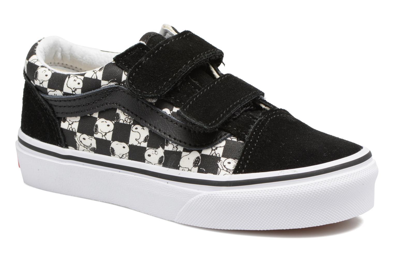 Sneaker Vans Old Skool v schwarz detaillierte ansicht/modell