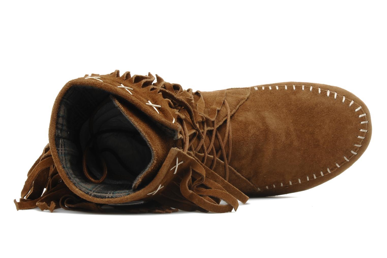 Ankle boots Les Tropéziennes par M Belarbi Marah Brown view from the left