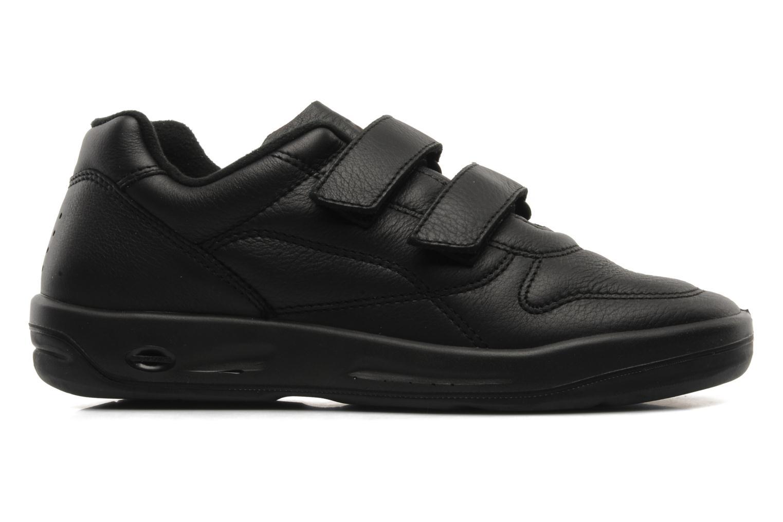 Sneakers TBS Easy Walk Archer Zwart achterkant
